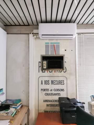 Remplacement d'une installation air/air d'un commerce à Toulouse